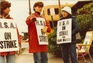 Image for HSA Hits the Picket Lines